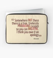 Somewhere Out There... - House MD Laptop Sleeve