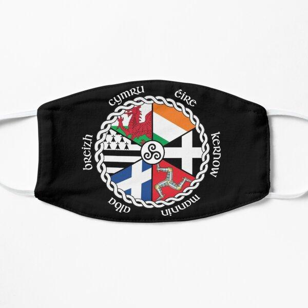 Drapeaux des nations celtiques Masque sans plis