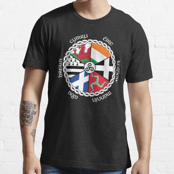 Celtic Nations Flags Essential T-Shirt