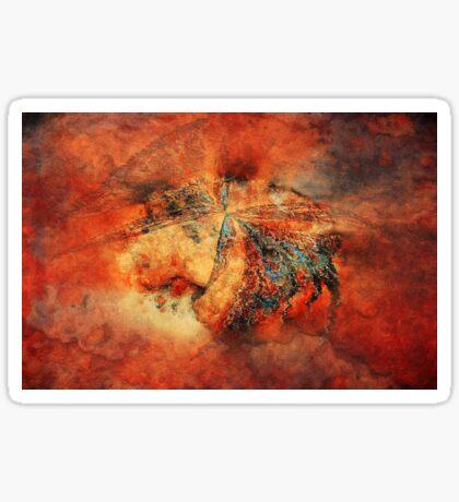 Butterfly Wall © 2008 Brad Michael Moore Sticker