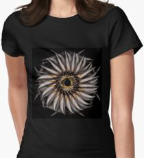 """Feathered Flower © Brad Michael Moore 2008"" Womens Fitted T-Shirt"