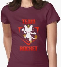 Pokemon Go - Team Rocket! Womens Fitted T-Shirt