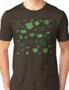 Lucky Four-Leaf Clover  Unisex T-Shirt