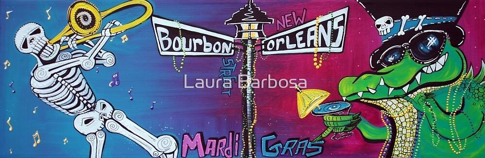Mardi Gras Celebration by Laura Barbosa