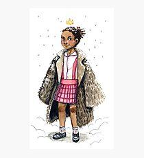 Little Queen Photographic Print