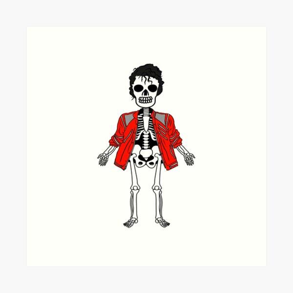 Skeleton 3 Art Print
