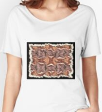 """""""Cayonland Digital Parchment"""" © 2008 Brad Michael Moore Women's Relaxed Fit T-Shirt"""