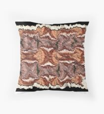 """Cayonland Digital Parchment"" © 2008 Brad Michael Moore Throw Pillow"