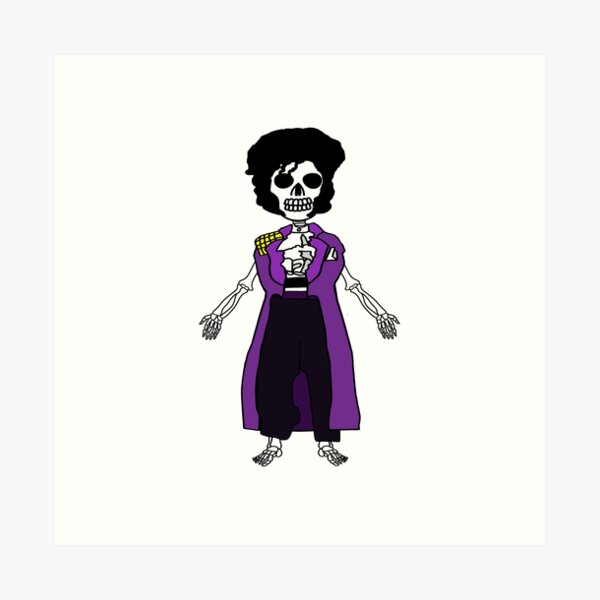 Skeleton 9 Art Print