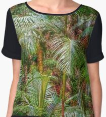 Deep In The Forest, Tamborine Mountain - Clothing Women's Chiffon Top