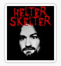 Charles Manson - Helter Skelter Sticker