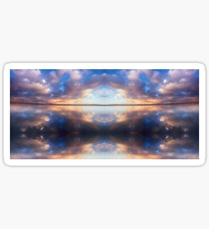 """Spiritual Flight"" © 2008 Brad Michael Moore Sticker"