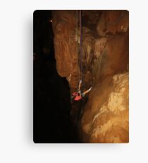 My Very First Rappel Canvas Print