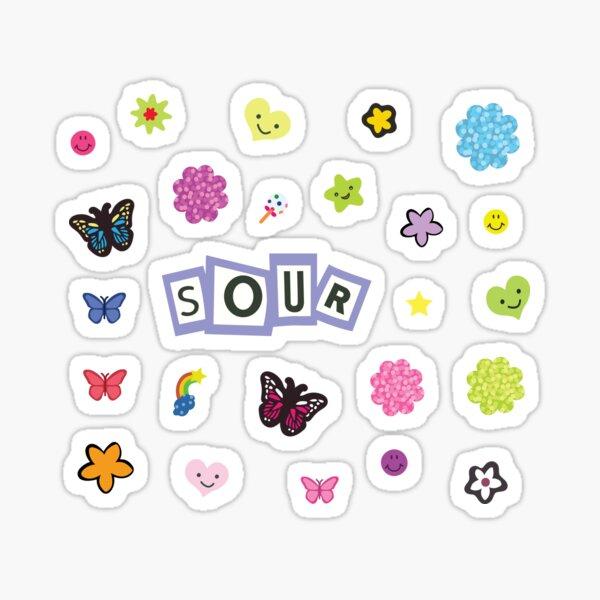 Sour Title + Stickers Sticker