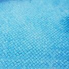 pool blue by Jessica Sharmin
