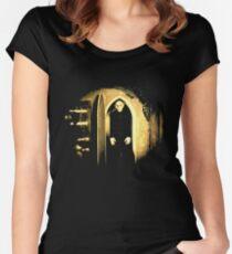 Black Nosferatu 2 Women's Fitted Scoop T-Shirt