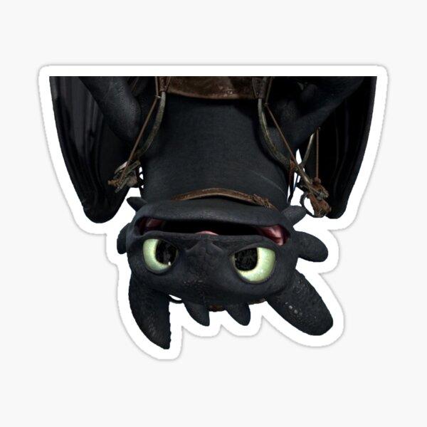 Dragón al revés Pegatina