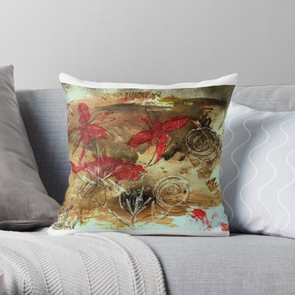 Beauty can be found everywhere Throw Pillow