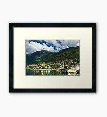 Norwegian nature Framed Print