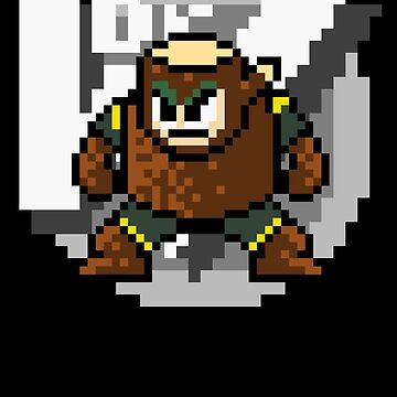 Woodman with text (Black) by Funkymunkey