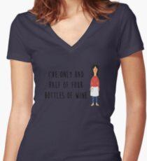Linda Belcher - Bobs Burgers Women's Fitted V-Neck T-Shirt