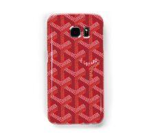 Goyard Perfect Case red Samsung Galaxy Case/Skin