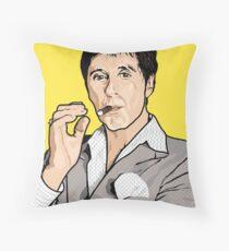 Al Pacino Scarface Pop Art  Throw Pillow