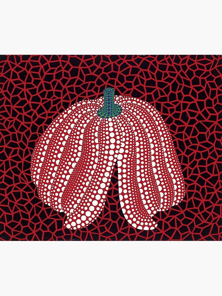 Yayoi Kusama Red pumpkin by miller97shop