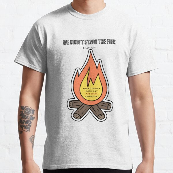 Billy Joel - We Didn't Start The Fire Classic T-Shirt