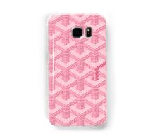 Goyard Perfect Case pink Samsung Galaxy Case/Skin