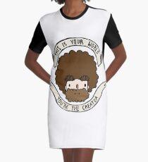 BOB ROSS T-Shirt Kleid
