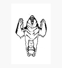 Winnie the Pooh inner Bear  Photographic Print