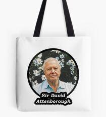 Sir David Attenborough Tote Bag