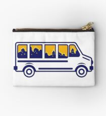 Van City Skyline Retro Studio Pouch