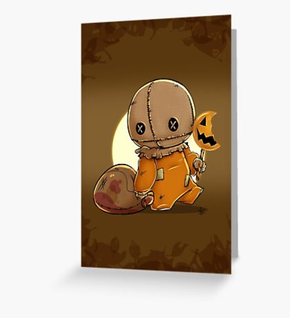 Trick 'r Treat Greeting Card