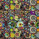 Background mandala by Kudryashka
