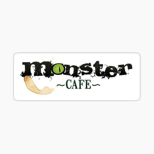 Monster Cafe Logo Sticker