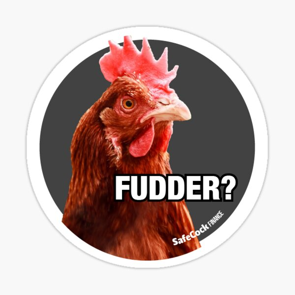 Fudder? Sticker