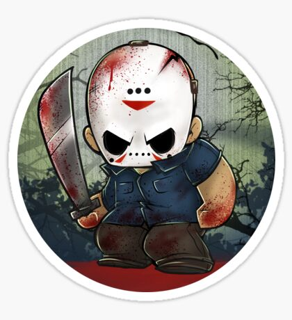 Jason Vorhees Sticker