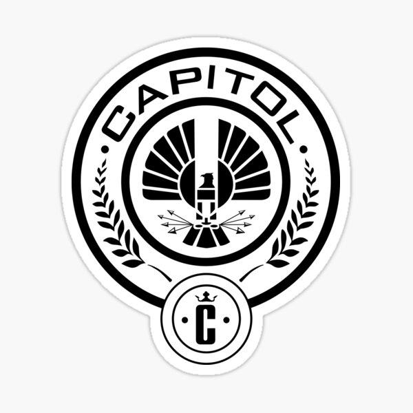 Los juegos del hambre - The Capitol MockingJay Pegatina
