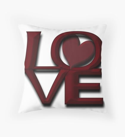 City Of Brotherly LOVE Throw Pillow