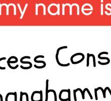 Princess Consuela Bananahammock (Friends) Sticker