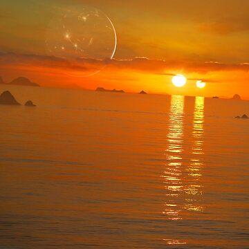 Binary Sunset by magarlick