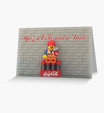Have a Coke and a smile  Greeting Card