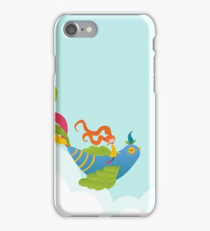 Bird and Girl iPhone Case/Skin