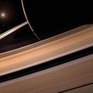 Saturn's Rings by magarlick