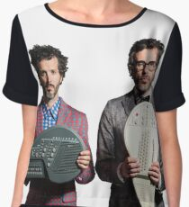 Flight of the Conchords - Jemaine and Bret Chiffon Top