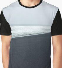 Black beach Graphic T-Shirt
