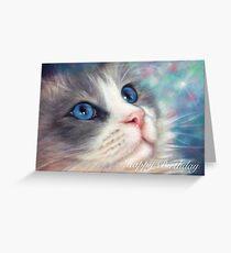 Ragdoll cat birthday greeting cards redbubble ragdoll cat birthday card greeting card m4hsunfo