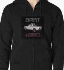 Subaru Brat Zipped Hoodie